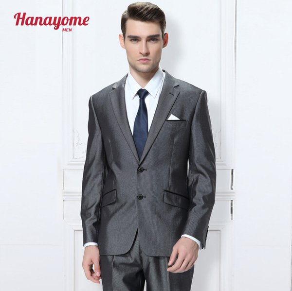 2017 Wholesale Grey Clothing Men'S Chinese Tunic Suit Causal ...