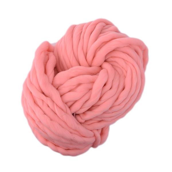 Super Thick ply yarn 7Color Soft Wool Roving Bulky Big Yarns Spinning Hand Knitting Thread Crochet Yarn for Hat Scarf Knitting