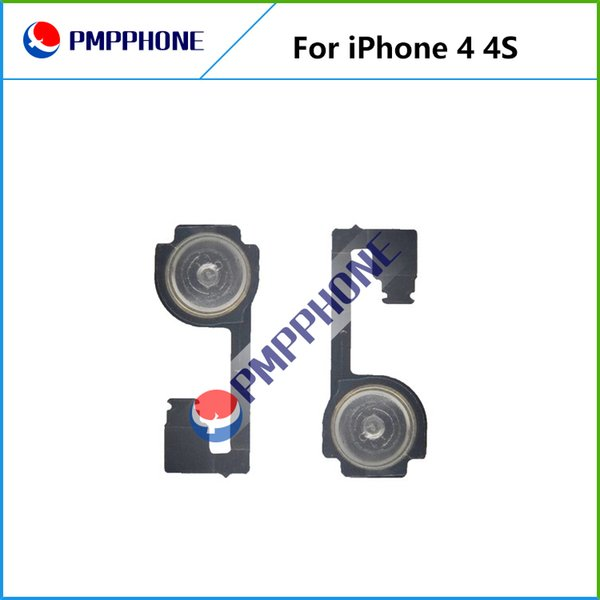 For iphone 4 & iPhone 4S Home Button Flex Cable Return Key Ribbon Cable Parts Replacement with free shipping