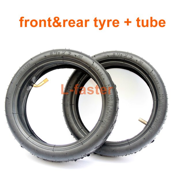 Front rear tyre tube