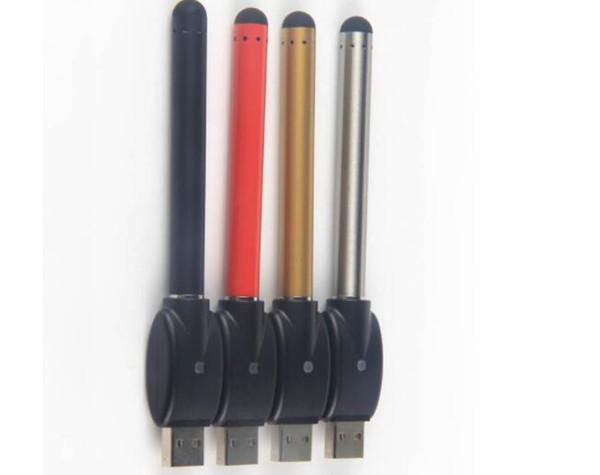 o penna vape batteria bud touch batteria CE3 280mAh e cig 510 batteria senza pulsante batterie automatiche per cartucce penna vaporizzatore