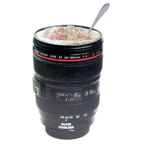 Creative Camera Lens Coffee Mug Canons Cup 2 Generation Of Lens Mugs For Canon Fans Photographers Novelty Gifts