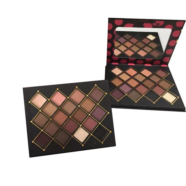 Wholesale Price High Quality makeup Chris Chang 18 colors eyeshadow palette 2types top qaulity DHL shipping