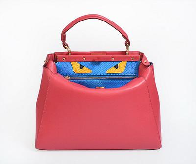 2017 Yeni Euramerican moda omuz çanta tasarımcısı hakiki deri ünlü sevimli canavar hangbags kadın çantası deri çanta