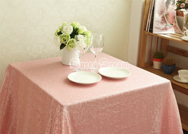 96 Square Sparkle Sequin Tablecloths or table cloths For Wedding ...