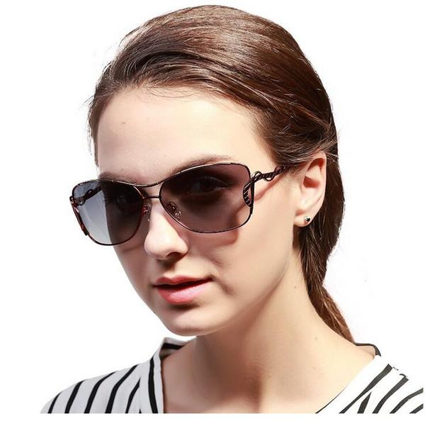 5 cores moda feminina polarizada óculos de sol mercúrio revestido anti  reflexo moldura de liga de alumínio e magnésio ao ar livre óculos  anti-reflexo e914 bf7919e496