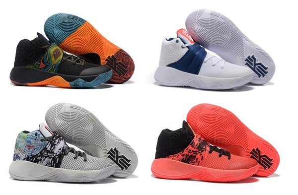 the latest 933e4 1bde9 Kyrie 2 BHM & Effect Basketball Shoes Women Boys Girls Kyrie2 Inferno Tie  Dye Kyrie Irving Sneakers Kids 2016 For Sale Birthday Gift Discount Shoes  ...