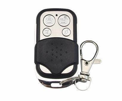 Venda por atacado- 10mA controle remoto metálico sem fio para GSM10A sistema de alarme de segurança sem fio