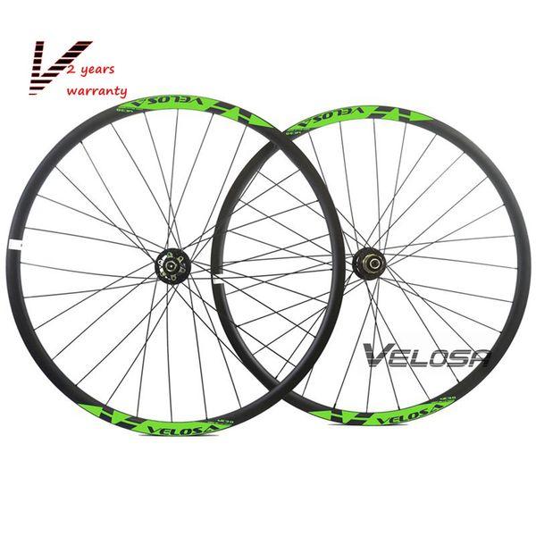 1430g,super light 29er MTB XC asymmetric hookless carbon wheels 29inch velosa XC wheelset,2.6mm off set asymmetric 30mm rims