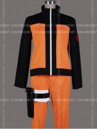 Wholesale-Free shipping Cheap Naruto 2 Shippuden Uzumaki Cosplay Costume Anime Clothing Christmas