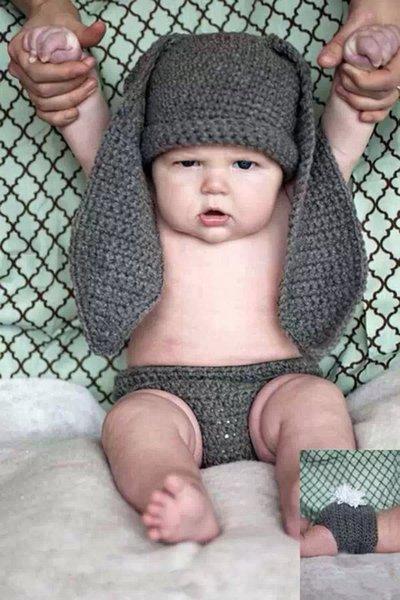 Großhandel Reizendes Baby Häkelarbeit Foto Stützen Säuglingshand ...