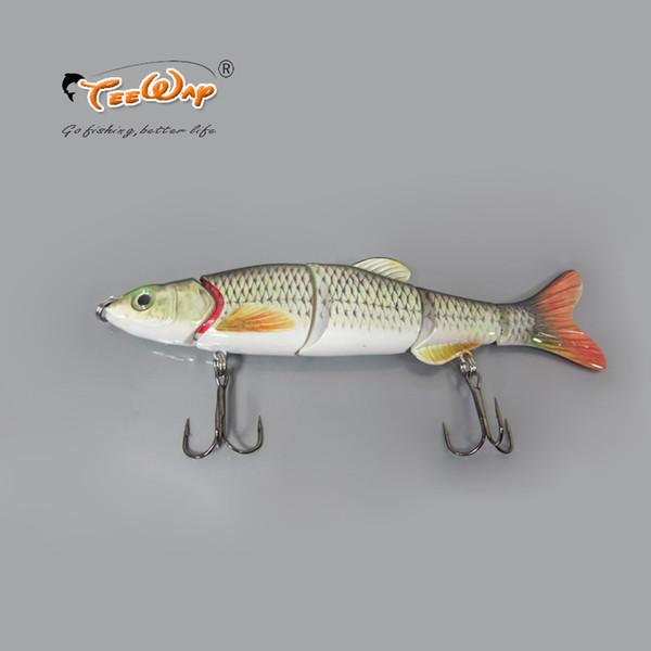 Free Shipping Fishing Lure 5 Segment Swimbait Crankbait Hard Bait Slow 38g 16cm Fishing hook Fishing Tackle FL5-02