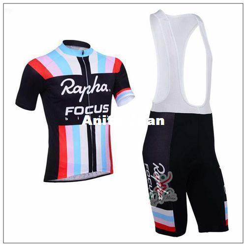 2015 Rapha Radfahren Trikots schwarze Farbe mit rot rosa blau weiß Streifen kurzen Ärmeln Radfahren Bike Wear Größe XS-4XL Bike Tücher
