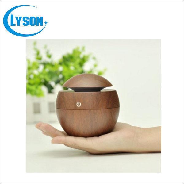 Portable Ultrasonic Essential Oil Wood Grain Oil Diffuser Aromatherapy SPA Fragrance Diffuser Cool Mist Wood Grain USB Aroma Humidifier