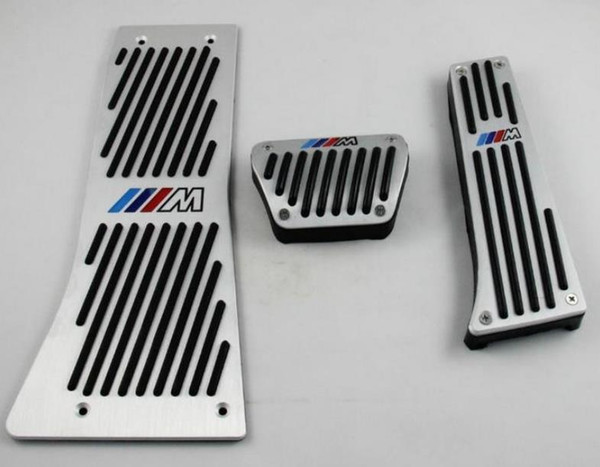 Sport Fuel Brake Footrest Pedal Set For BMW X5 E53 2000-2006 AT LHD