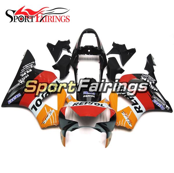 Carenados de inyección para Honda CBR900RR CBR954RR 954 2002 2003 Kit de Carenado de motocicleta ABS Carrocerías de carrocería de capota de moto Repsol Nuevo