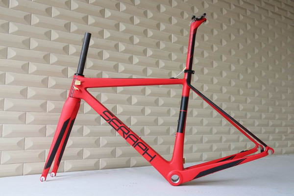 Cuadro de bicicleta de carbono SERAPH marca FM686 T1000. marco de bicicleta de venta de fábrica china