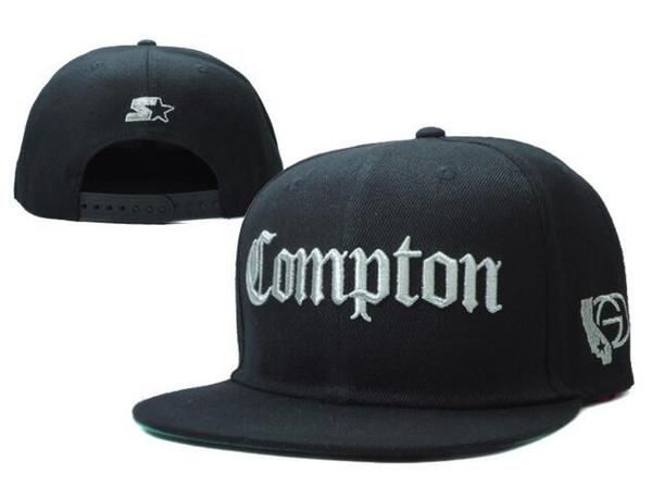 Compton Snapback Hats Starter Compton para hombre y para mujer Gorras de  béisbol ajustables exclusivas Hiphop 7b626ceefde