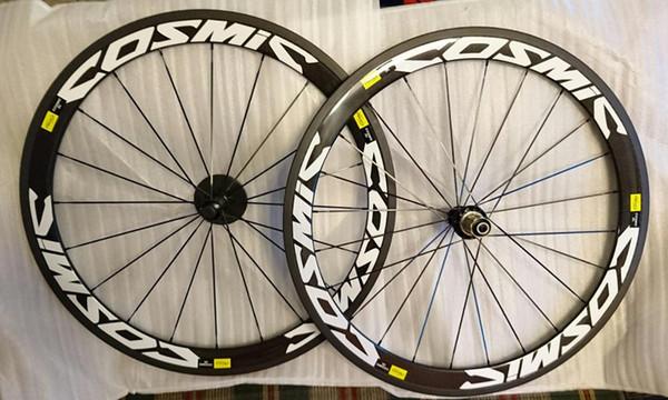 700Cx23W cheap full carbon bike tubeless clincher road wheelset Novatec hubs built tubular wheels for cycling freeshipping now