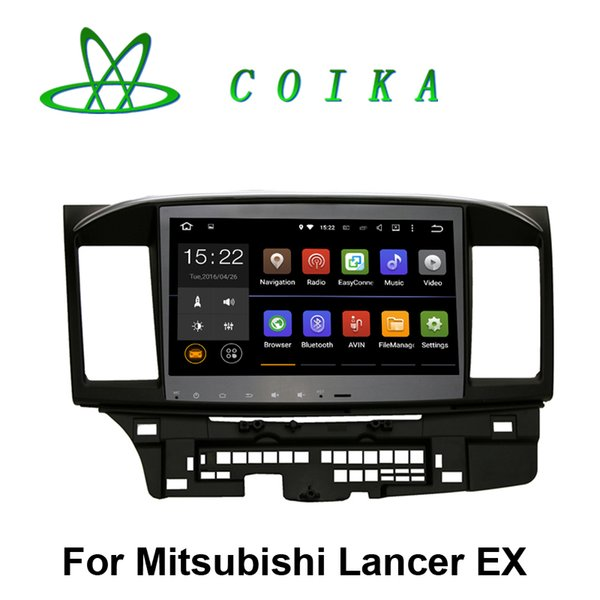10.2 Pantalla táctil Android 5.1 Sistema DVD del coche para Mitsubishi Lancer EX Radio Recorder GPS Navi BT Guía telefónica RDS WIFI 3G OBD DVR 1024 * 600