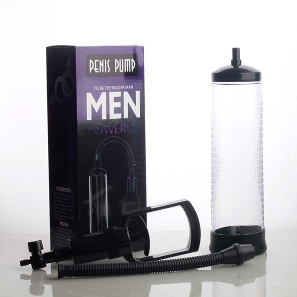 Ingrandimento del pene della pompa del pene con l'estensore del pene della pompa del vuoto Extender / Enhancer / Helper Helper per gli uomini, ingrandimento del Proextender