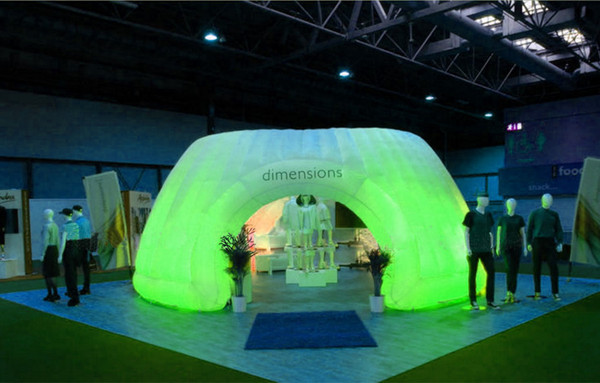 professional new design air entertainment used open air inflatable outdoor igloo for rental with beautiful lighting
