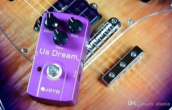 Free shipping JOYO JF-34 US Dream Guitar Pedal with High Gain Distortion & True Bypass