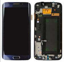 NEW Mobile Phone Lcds Assembly Touch Digitizer Screen Replacement Parts with Frame for Samsung Galaxy S6 Edge G925