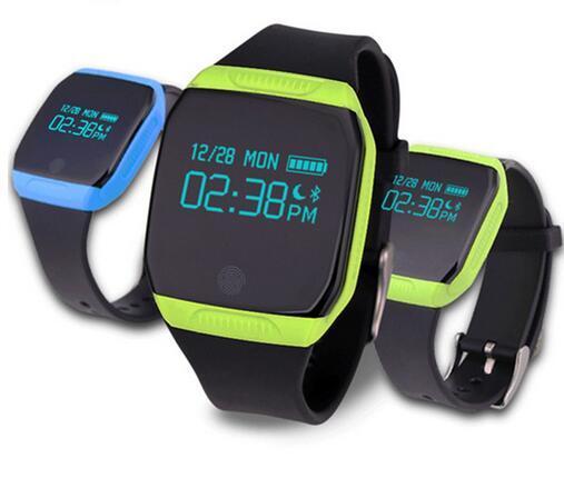 New E07S Smart Watch Wristband Bluetooth G-Sensor Smart Band Pedometer Fitness Tracker Sleep Monitor Bracelet For Andriod IOS
