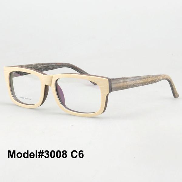 Gros-SDM3008 style de livraison gratuite rétro sanctuaire en bois sculpté pour émuler les spectaacles de prescription RX lunettes optiques lunettes