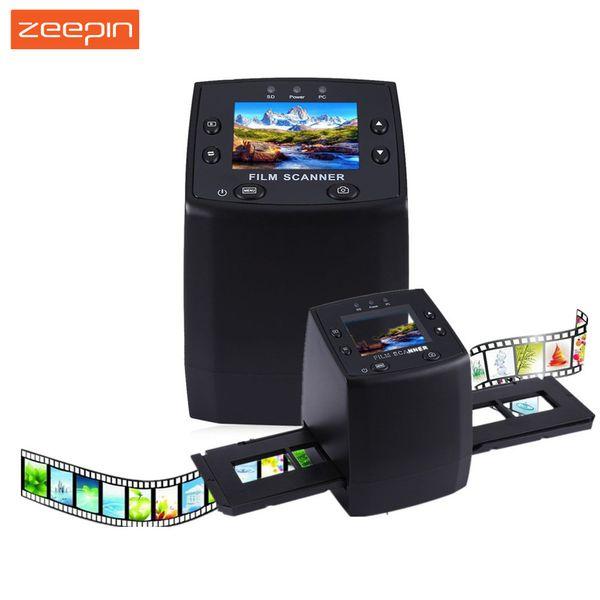 Wholesale Zeepin EC717 5MP 35mm Negative Film Slide Viewer Scanner USB  Digital Color Photo Copier For Windows Mac TFT LCD Screen Id Scanner Image