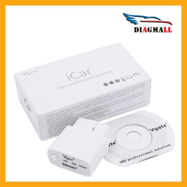 Vgate iCar iV350 ELM327 Bluetooth Auto Code Reader Switch OBD2 Diagnosis scanner