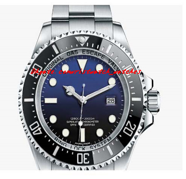 Luxury Watches Stainless Steel Bracelet Automatic NEW MENS Sapphire NEWEST MODEL JAMES CAMERON FADED BLUE Mens Men's Watch