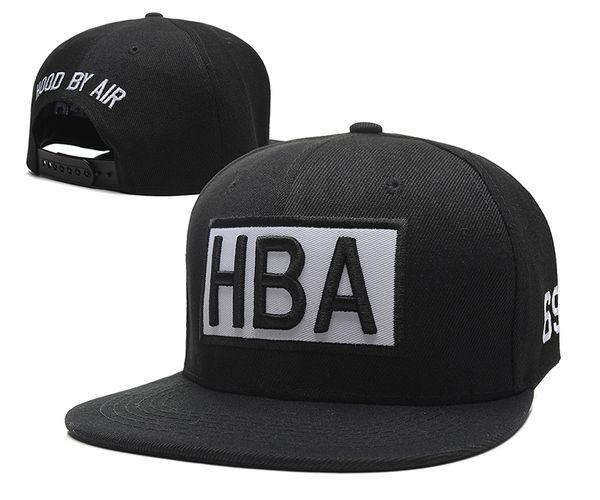 Cheap HBA Snapback Hiphop Hats HBA Fashion Caps Hiphop Adjustable Cap Street Popular