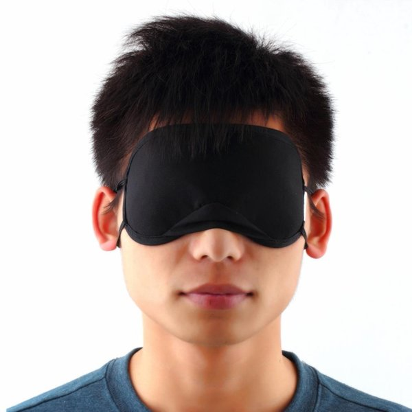 top popular Bamboo Eye Mask Shade Cover Sleeping Rest Completely blocks out ambient light Absorption gas of eyes 2019