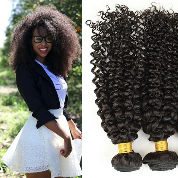 7A brazilian kinky curly extensions hair tight kinky curly peruvian Indian malaysian virgin hair 3pcs lot soft free shipping