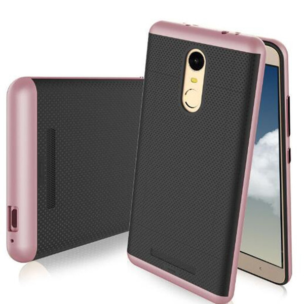 Neo Hybrid TPU Case PC Frame Shockproof Protective Back Cases Cover for Xiaomi Redmi note 3 New Fashion High Quality Dual Layer Shell