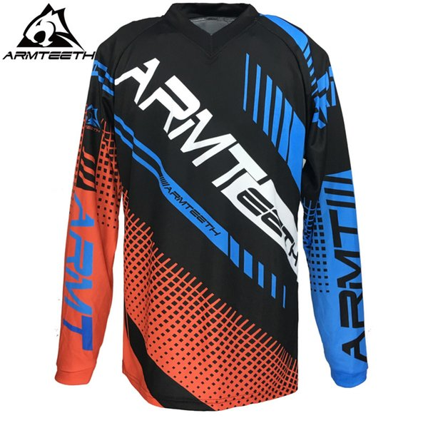2017 DH Enduro Motocross Jersey Off Road T-Shirt MTB DH Ropa Ciclismo Bicicleta Racing Jersey MX Tamaño S-4XL