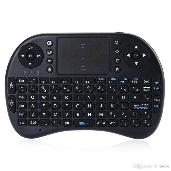iPazzPort Wireless Tastatur 2,4 GHz Mini Air Maus Tastatur Fernbedienung Touchpad Für Smartphone Android TV Box Laptop TabletB