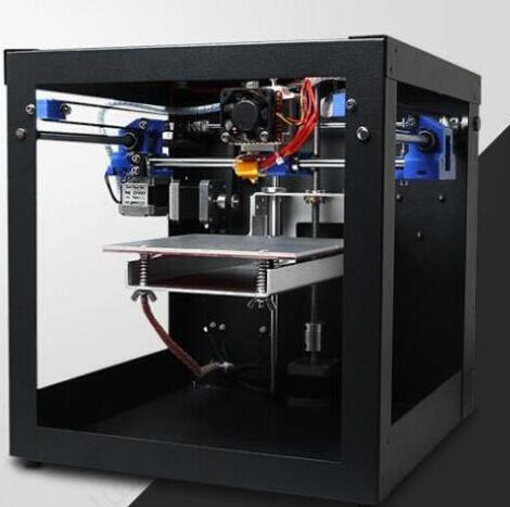 Assembled 1.75mm filament 0.3mm Nozzle 3D Printer FDM Creator MK8 Extruder Prusa