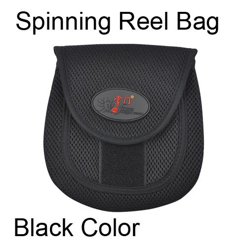 Spinning reel bag Black Color