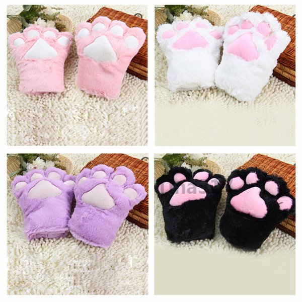 New Sexy The maid cat mother cat claw gloves Cosplay accessories Anime Costume Plush Gloves Paw & 2018 New Sexy The Maid Cat Mother Cat Claw Gloves Cosplay ...