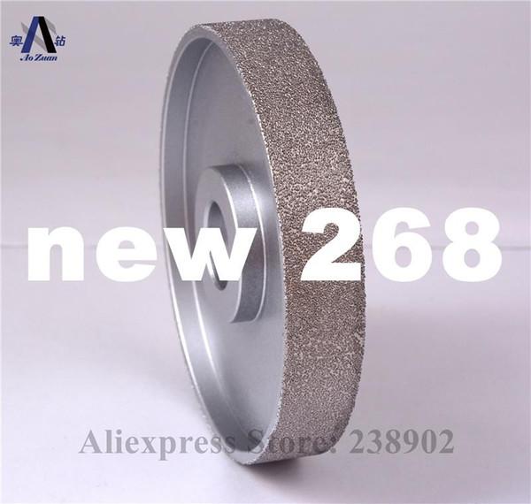 """best selling 4"""" 100mm Vacuum Brazed Diamond FLAT Wheel   Stone Edging Wheel especially For Resin Glass etc"""