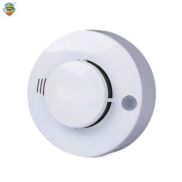 CE Fotoelétrico Detector De Fumaça Sensor Com Fumaça alarme de incêndio alarme De Alarme De Segurança Auto Dial Sistema de Alarme Para Frete Grátis