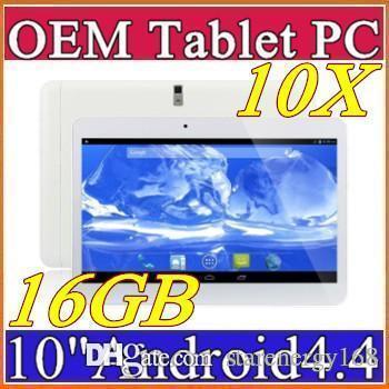 "10X DHL 10"" inch MTK6572 Dual Core 1.2Ghz Android 4.4 WCDMA 3G Phone Call tablet pc GPS bluetooth Wifi Dual Camera 1GB 8GB A-10PB"