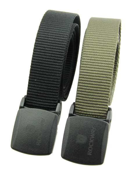 Men Eco-friend canvas belt with plastic buckle soft and super-light belt metal free security friendly