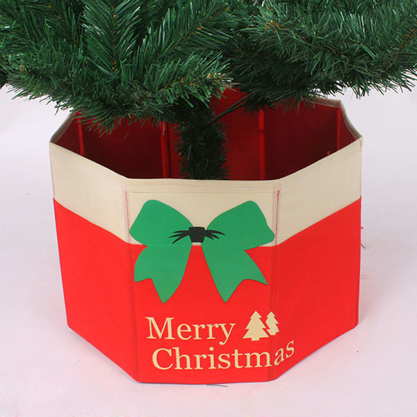 Christmas Tree Skirt Xmas Tree Ornaments Merry Christmas Decoration Plastic Gifts Storage Box Accessories Adornos Navidad 2016