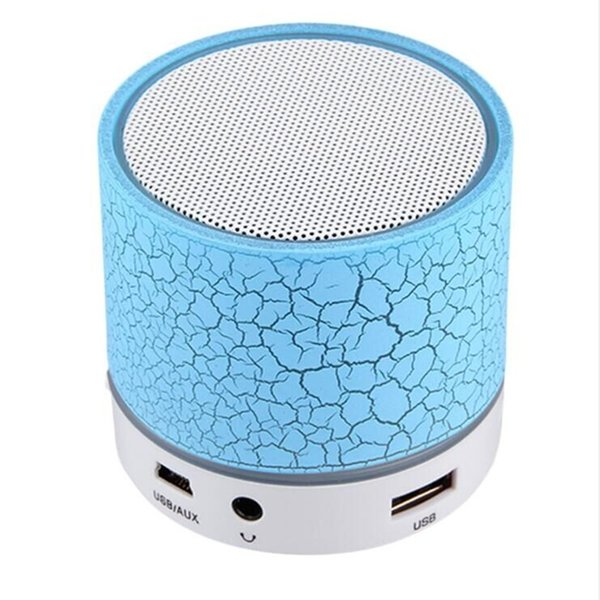 mini portable speaker blue