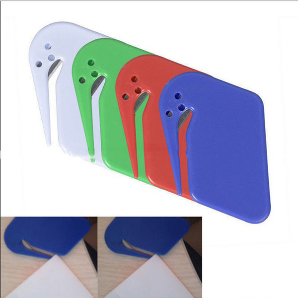 Sharp Mail Envelope Opener Office Equipment Safety Paper Guarded Cutter Blade #R410