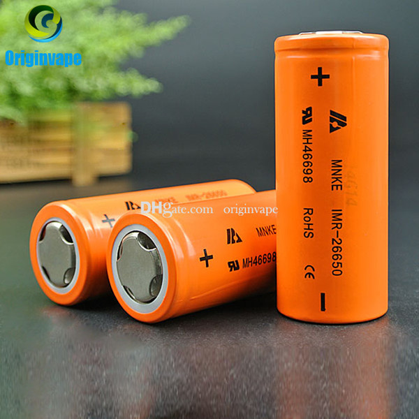 best selling 100% Original MNKE 26650 Battery 4500mah 60A Discharge Rechargeable Batteries For Electronic Cigarette Motor Bike Fedex Free Shipping